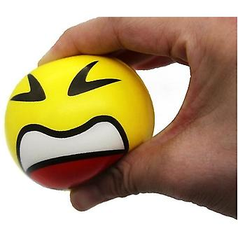 Crumple Ball Stressball Smiley 6cm