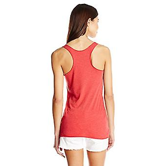 Fifth Sun Juniors Had Me at Meow Graphic Tank, Red Heather, X-Large