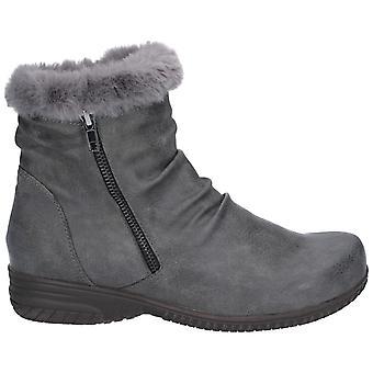Flotte & nourricier Womens/Mesdames Aurora Zip Boot
