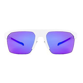 adidas Strivr Lightweight Sport Sonnenbrille - Weiß Matt - Violett