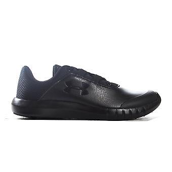 Bajo armadura Mojo jóvenes niños niños encaje hasta deportes entrenador zapato negro