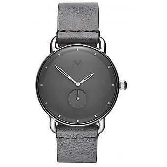 MVMT D-MR01-SGR Watch - Men's Grey Leather Watch
