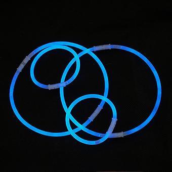 TRIXES 6 szt Neon Glow fluorescencyjne bransoletki
