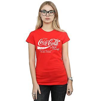 Coca-Cola Women's Atlanta Georgia Distressed T-Shirt