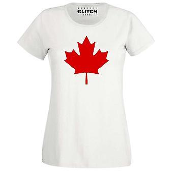 Frauen's Canada Unterstützer T-shirt