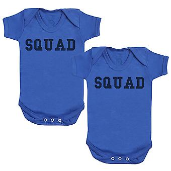 SQUAD Baby Bodysuit - Baby Gift Twin Set