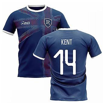 2020-2021 Glasgow Home Concept Football Shirt (Kent 14)