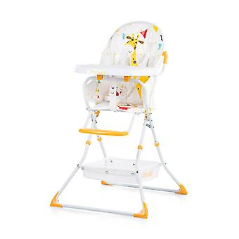 Chipolino high chair folding Maggy with table, storage basket, strap, leg separator