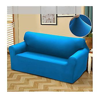 Easy Fit Stretch 2 Seater Couch Sofa Slipcover