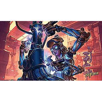KeyForge in The Lab Playmat