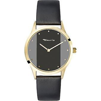 Tamaris - wristwatch - Anita - DAU 35 - 5mm - gold - ladies - TW016 - black gold