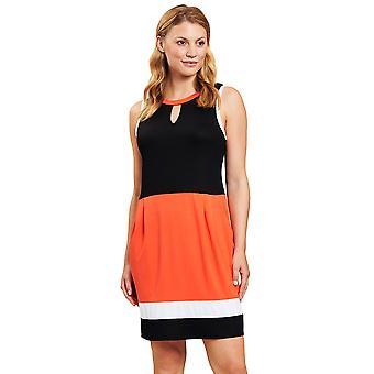 Vestido de praia multicolorido colormix rösch 120520-16568