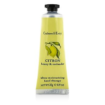 Crabtree & Evelyn Citron, Honey & Coriander Ultra-Moisturising Hand Therapy 25g/0.9oz