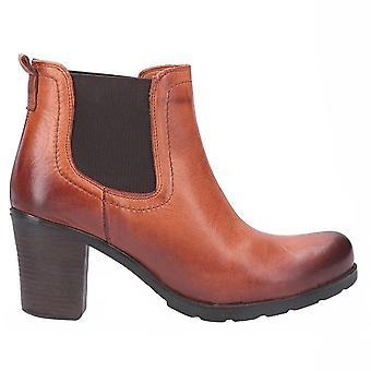 Riva Womens/Ladies Elva Heeled Leather Ankle Boot