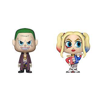 Suicide Squad Joker & Harley Quinn Vynl.