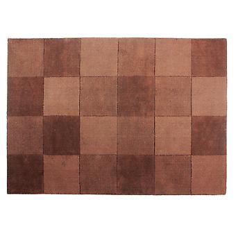 Flair-Teppiche Wolle Quadrate Design-Boden Teppich