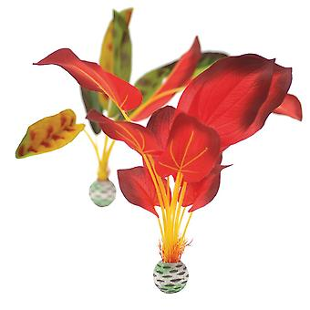 BiOrb Red/Green Silk Plants - Large