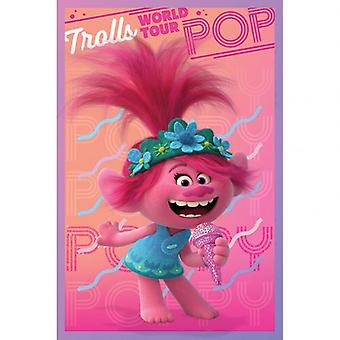 Trolls World Tour Poster Poppy 176