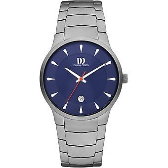 Design dinamarquês IQ68Q1275 Bogø Relógio Masculino