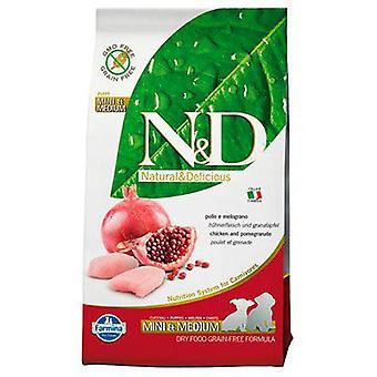 Farmina N&D Grain Free Puppy Mini & Medium Chicken and Pomegranate