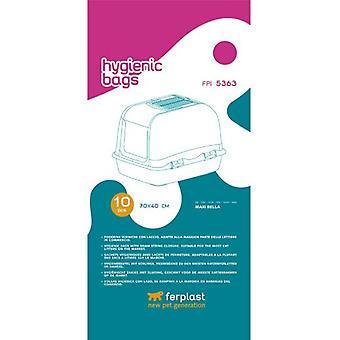 Ferplast Fpi Hygienetüten 70X40 10Pcs Maxi B