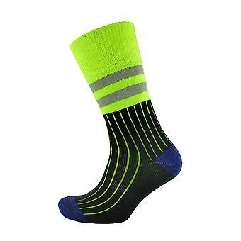 Storm Ridge Mens High Visibility Work Socks (3 Pairs)