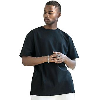 Cotton Addict Mens Heavy Oversized Jersey Cotton T Shirt