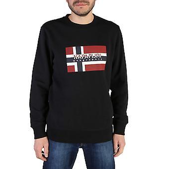 Napapijri Original Men Spring/Summer Sweatshirt - Black Color 41721
