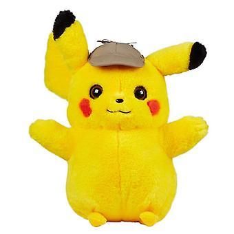 Pokemon Detective Pikachu Real Scale Gosedjur Plysch Mjukis 40cm
