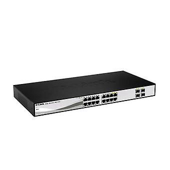 Växla D-Link DGS-1210-16 16 p 10 / 100 / 1000 Mbps 4 x SFP