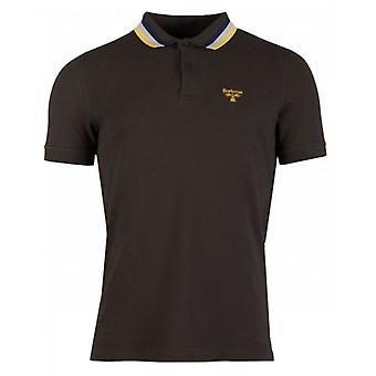 Barbour Beacon Beacon Tri Colour Tipped Polo Shirt