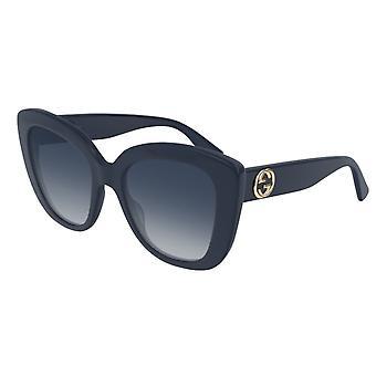 Gucci GG0327S 007 Sininen/Harmaa Aurinkolasit