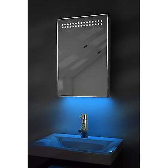 Ambient Badezimmer LED-Schrank mit Sensor & Rasierer Sockel k255