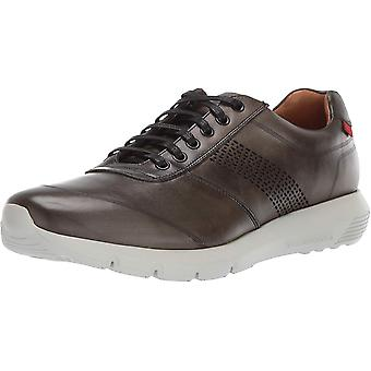 Marc Joseph New York Mens Chelsea Leather Low Top Lace Up Fashion Sneakers