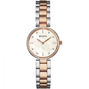 Bulova 98S147 Damas Reloj de pulsera de diamantes