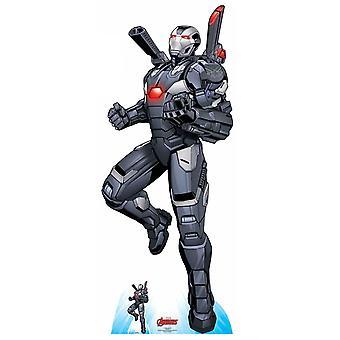 War Machine Ariel Assault Official Marvel Cardboard Cutout