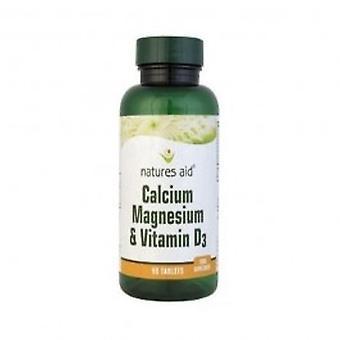 Natures Aid - Calcium Magnesium & Vit D3 90 tablet
