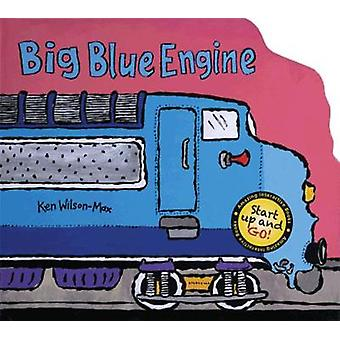Big Blue Engine by Ken Wilson Max