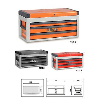 Beta 022000503 C22 S-R Portable Tool Chest With Three Drawers