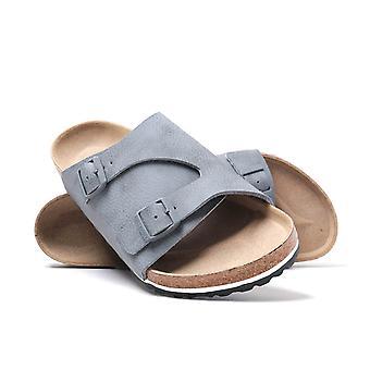 Birkenstock Zurich Desert Soil Grey Birko-Flor Sandals