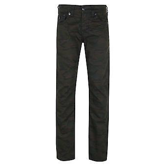 Sann religion Ricky Flap Super T Camo Regelbunden Fit Jeans
