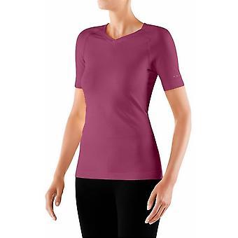 Falke Kurzarm Shirt - Azalea Pink