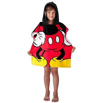 Toalla con capucha juvenil Mickey Mouse