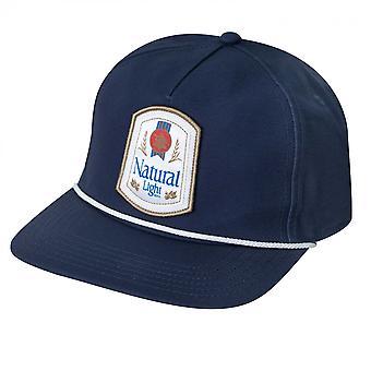 Natuurlijke licht Rowdy Gentleman marineblauw Snapback hoed