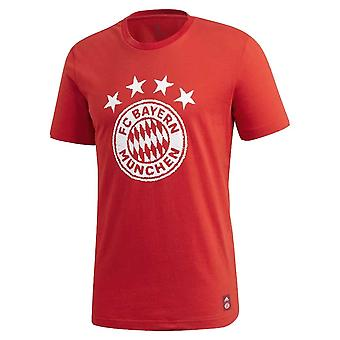 2020-2021 Bayern Munich DNA Graphic Tee (Red)