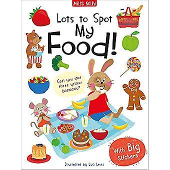 Massor att spot sticker bok - min mat! av Lots to Spot Sticker Book - Min