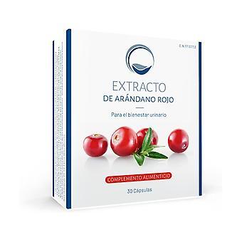 Extrait de canneberge 30 capsules (Myrtilles)