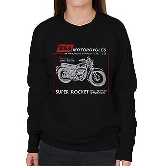 BSA Motorcycles Super Rocket Women's Sweatshirt