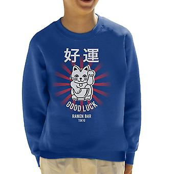 The Ramen Clothing Company Good Luck Noodle Bar Tokyo Kid's Sweatshirt
