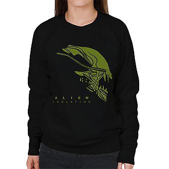 Alien eristäminen Xenomorph pään naiset ' s College pusero